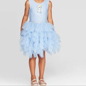 ❄️Disney Frozen Elsa tutu toddler dress NWOT S3t❄️